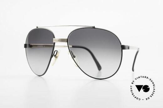 Dunhill 6023 80er Luxus Sonnenbrille Herren Details