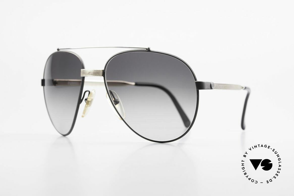 Dunhill 6023 80er Luxus Sonnenbrille Herren, Federgelenk im Nasensteg (optimale Passform), Passend für Herren