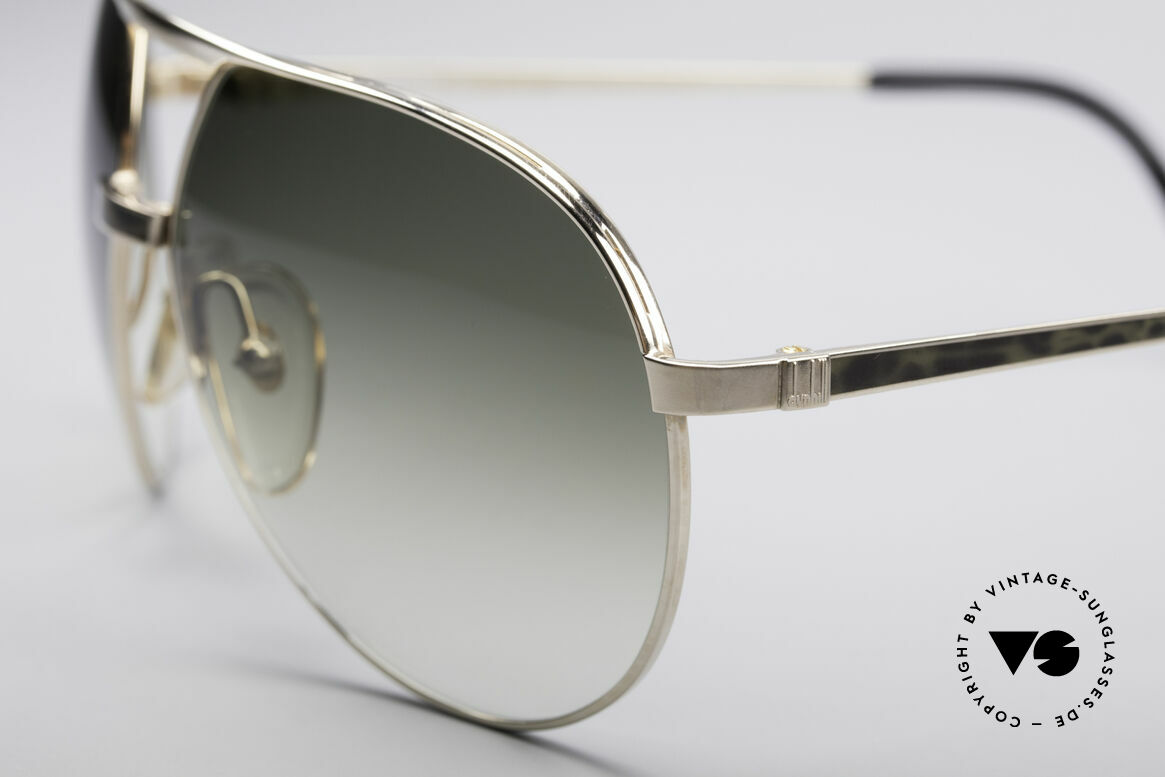 Dunhill 6042 80er Luxus Pilotenbrille Herren, Fassung/Rahmen passt sich der Gesichtsform an, Passend für Herren
