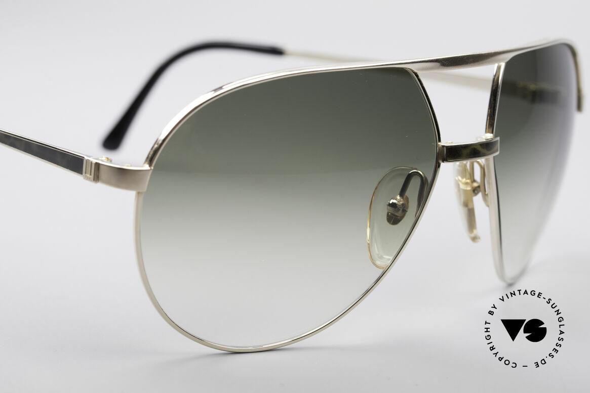 Dunhill 6042 80er Luxus Pilotenbrille Herren, einfach beeindruckend & selten (muss man fühlen), Passend für Herren