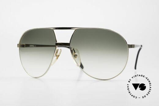 Dunhill 6042 80er Luxus Pilotenbrille Herren Details