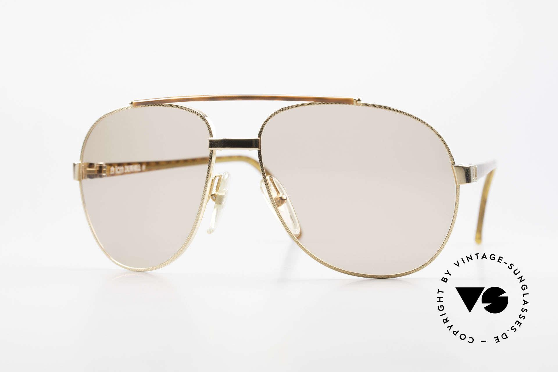Dunhill 6070 90er Luxus Sonnenbrille Herren, edler, hochwertiger und stilvoller geht's nicht, Passend für Herren