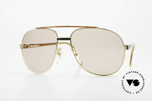 Dunhill 6070 90er Luxus Sonnenbrille Herren Details