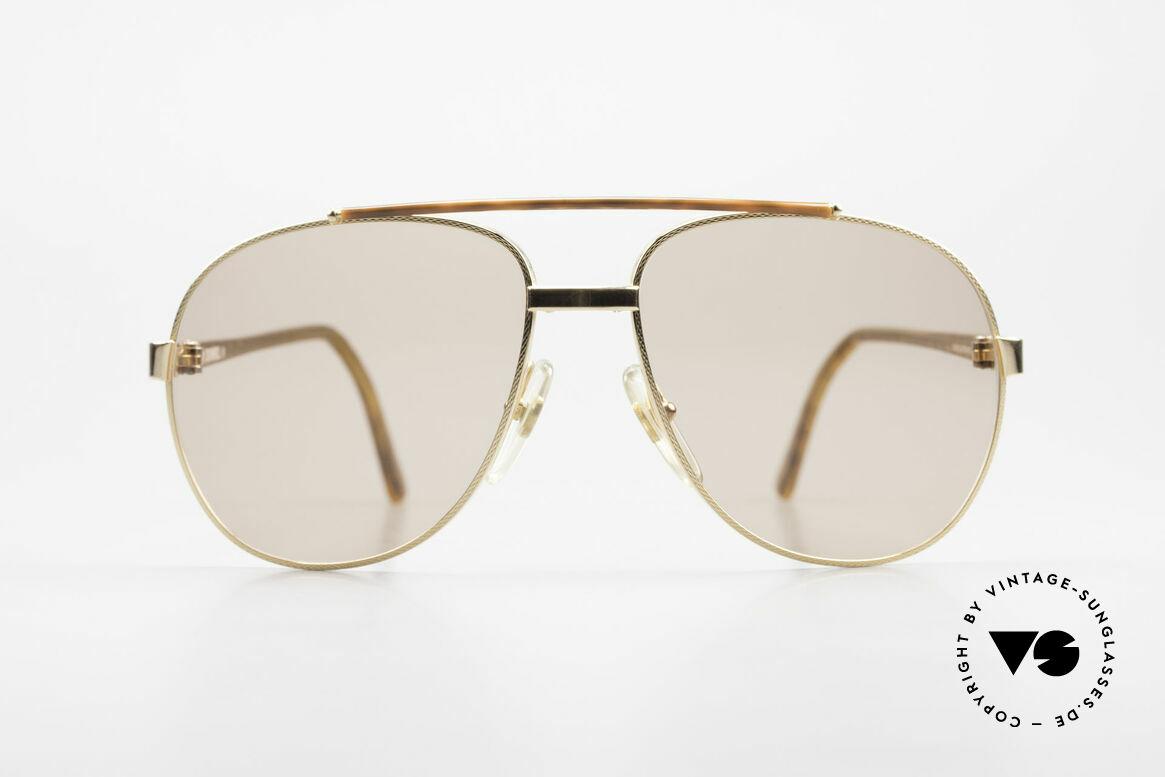 Dunhill 6070 90er Luxus Sonnenbrille Herren, vintage Dunhill Luxus-Sonnenbrille von 1990, Passend für Herren