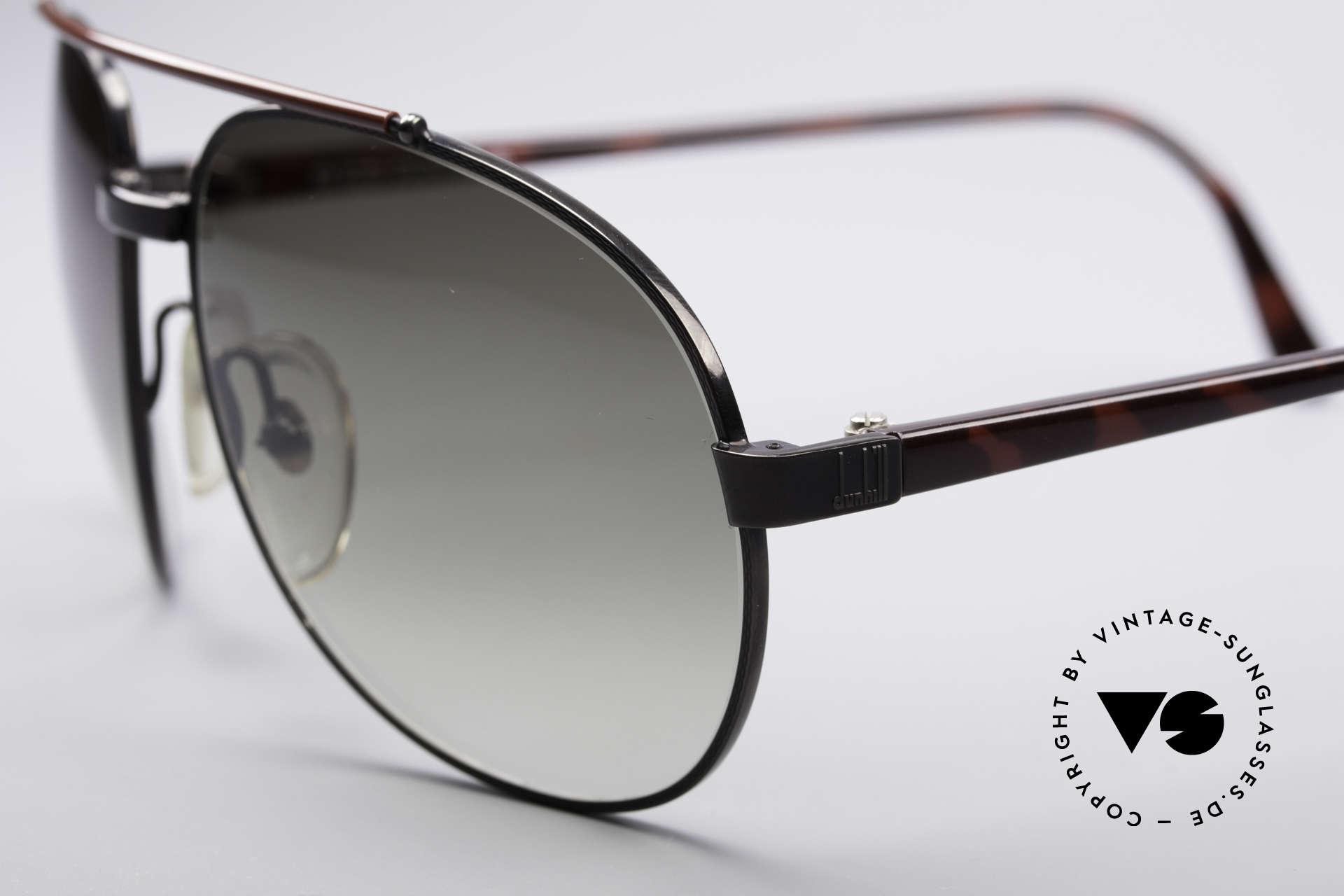 Dunhill 6070 90er Luxus Herren Sonnenbrille, flexible Fassung (Comfort-Fit); Top-Passform, Passend für Herren