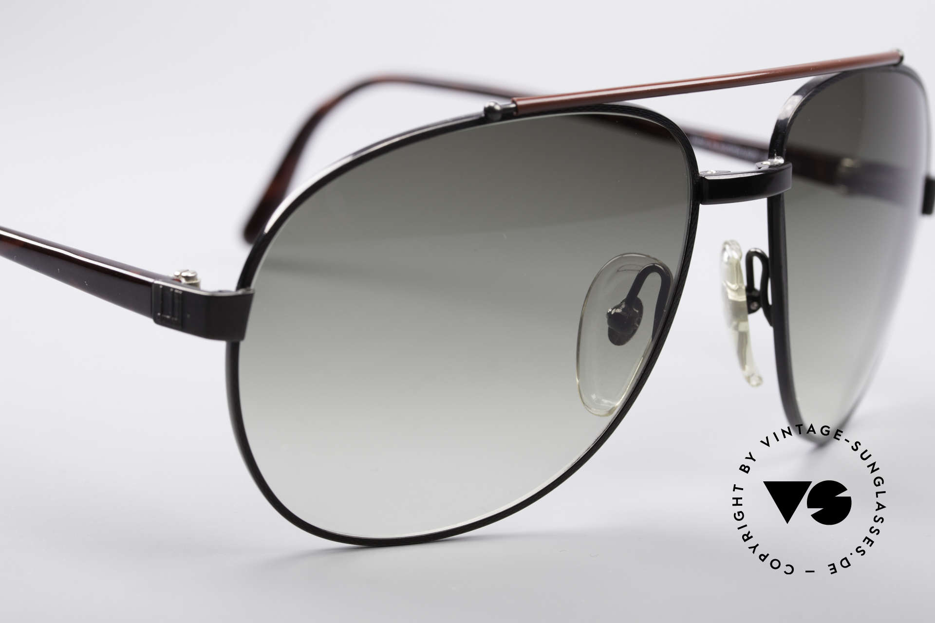 Dunhill 6070 90er Luxus Herren Sonnenbrille, ungetragen (wie alle unsere vintage Dunhills), Passend für Herren