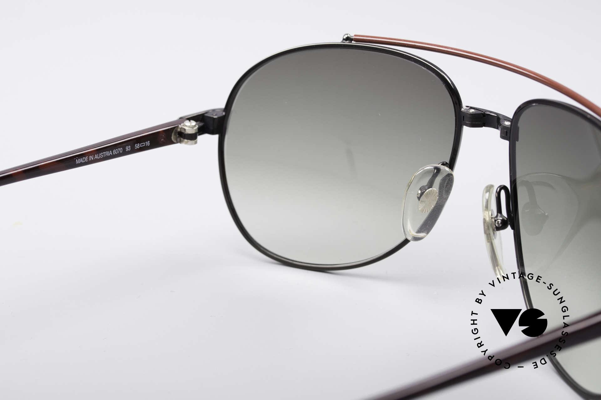 Dunhill 6070 90er Luxus Herren Sonnenbrille, KEINE Retrobrille, ein kostbares altes Original, Passend für Herren