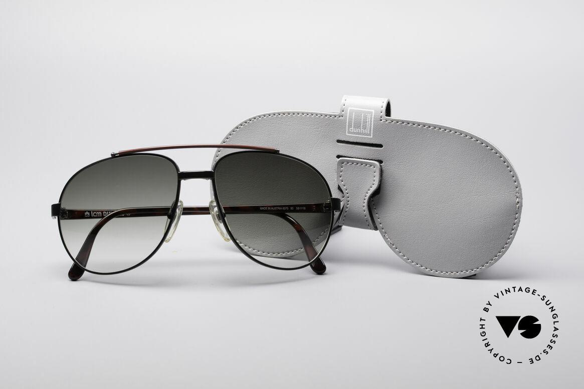Dunhill 6070 90er Luxus Herren Sonnenbrille, Größe: variabel, Passend für Herren