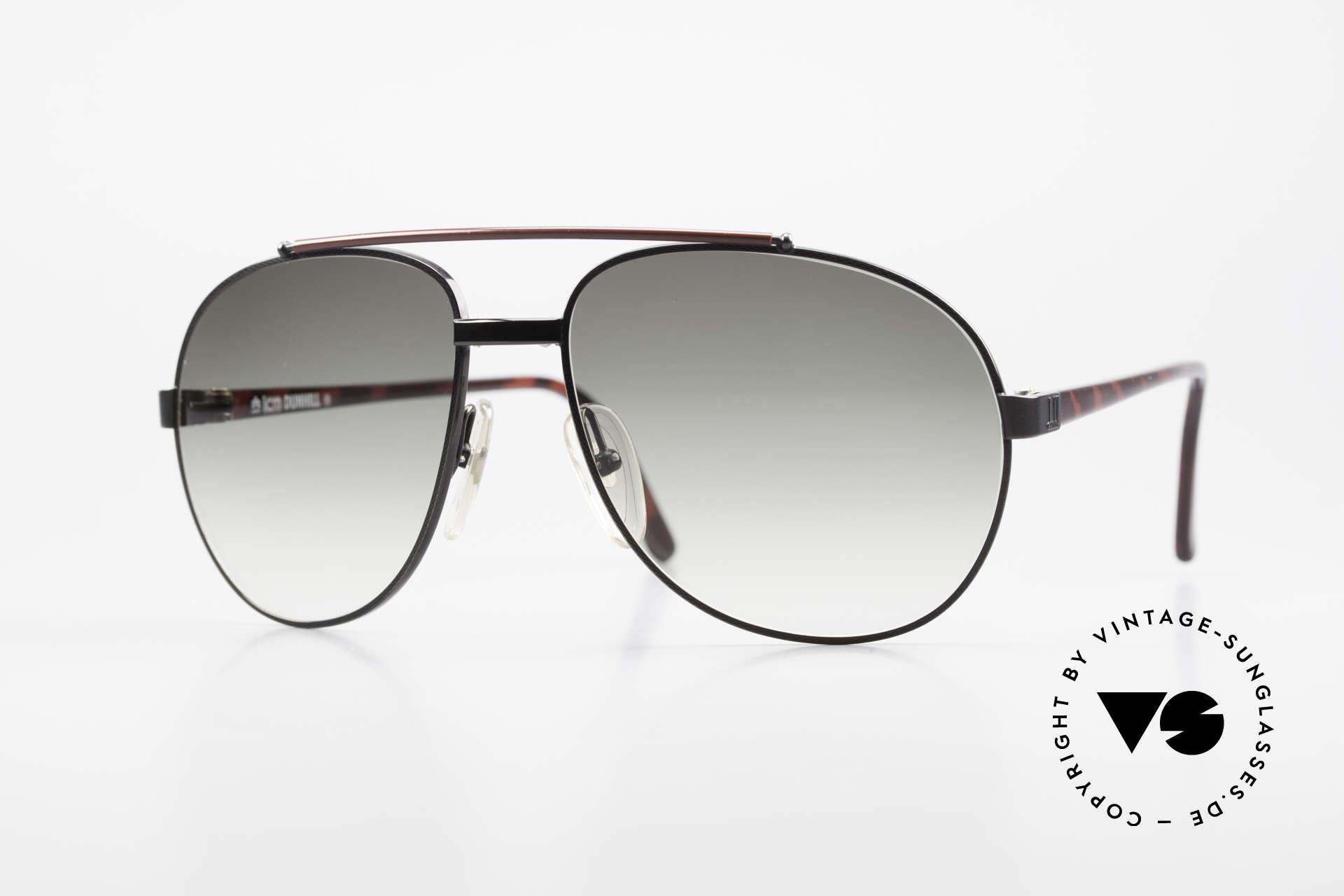 Dunhill 6070 90er Luxus Herren Sonnenbrille, edler, hochwertiger und stilvoller geht's nicht, Passend für Herren