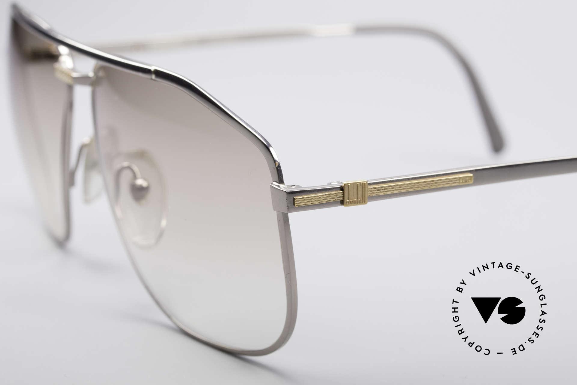 Dunhill 6096 Titanium Fassung 18kt Echtgold, enorm leicht (34g) & entsprechend hoher Tragekomfort, Passend für Herren