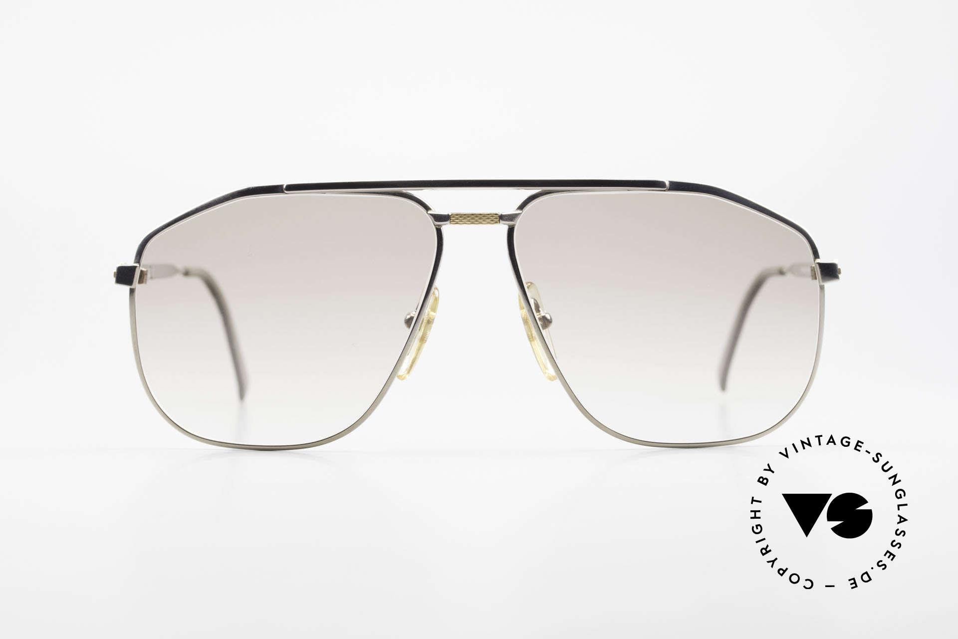 Dunhill 6096 Titanium Fassung 18kt Echtgold, 90er Jahre Titanium Designer-Sonnenbrille von Dunhill, Passend für Herren
