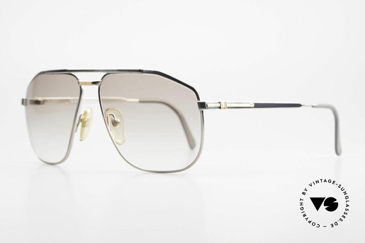 Dunhill 6096 Titanium Fassung 18kt Echtgold, pure Eleganz in Design, Farbe & Verarbeitungsqualität, Passend für Herren
