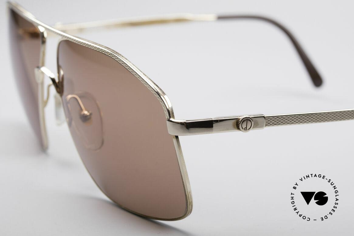 Dunhill 6104 Vergoldete Vintage Brille 90er, Wahnsinnsqualität gepaart mit stilvollem Design, Passend für Herren