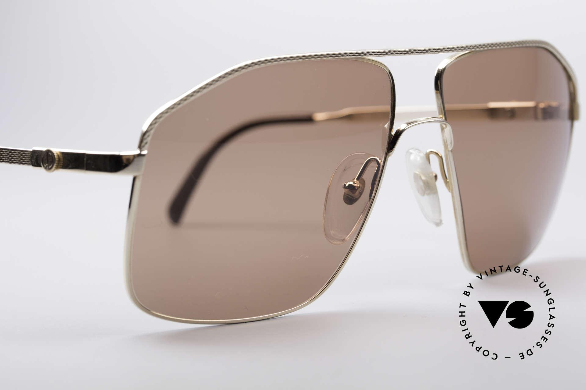Dunhill 6104 Vergoldete Vintage Brille 90er, ungetragen (wie all unsere Dunhill Sonnenbrillen), Passend für Herren
