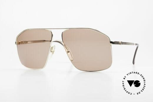 Dunhill 6104 Vergoldete Vintage Brille 90er Details