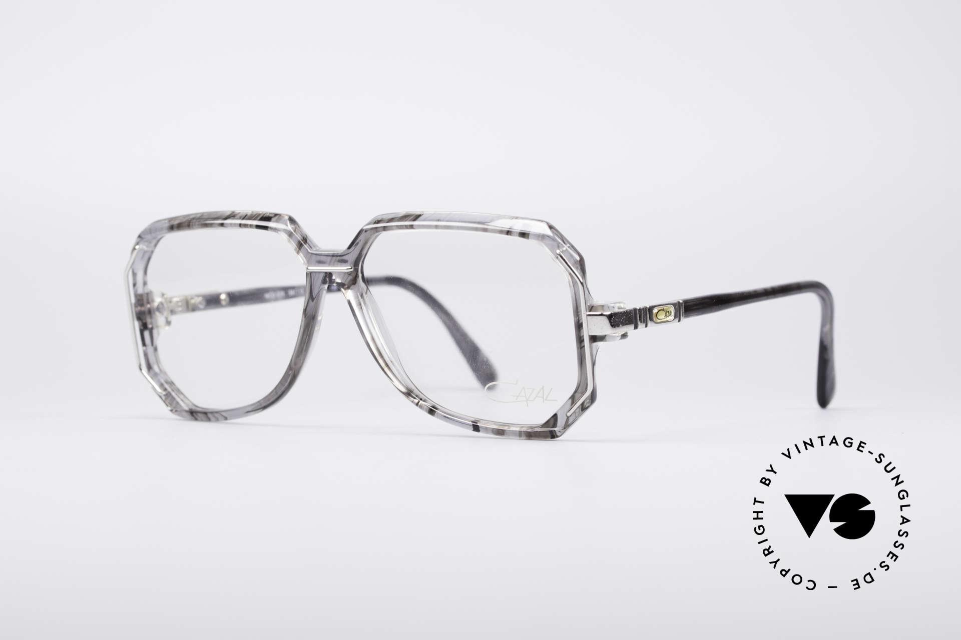 Cazal 639 Old School 80er Brille, grandiose Rahmengestaltung in Farbe und Form, Passend für Herren