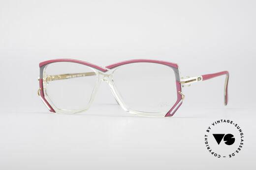 Cazal 197 80er Vintage Designerbrille Details