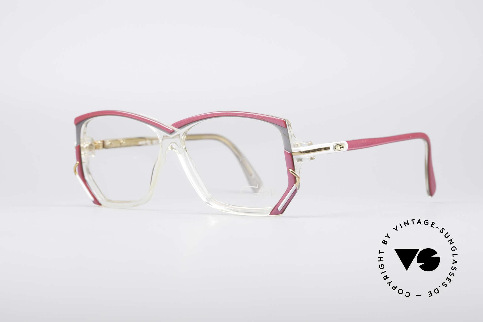 Cazal 197 80er Vintage Designerbrille, unverwechselbares Designerstück in KLEINER Größe, Passend für Damen