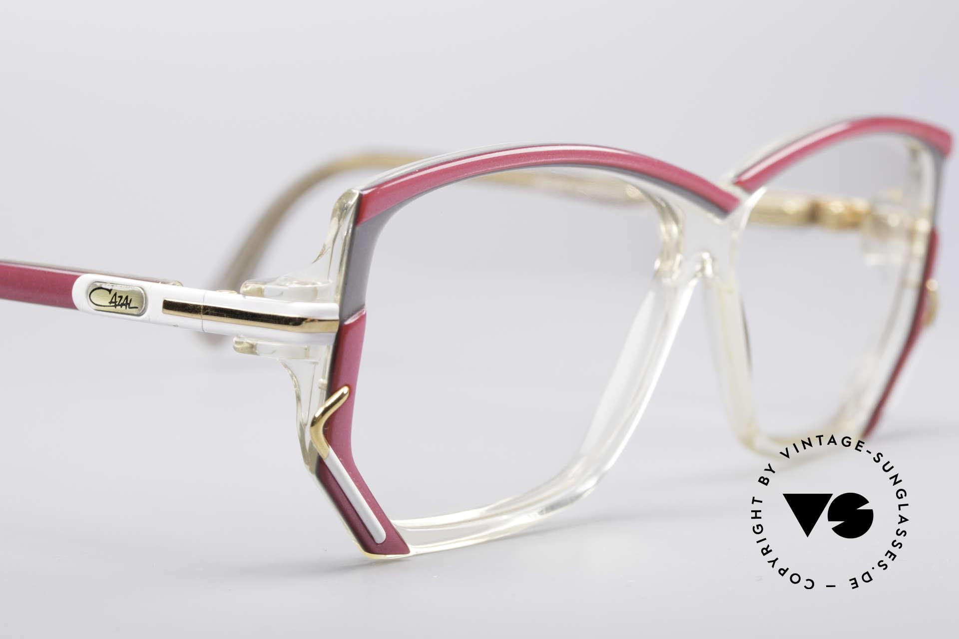 Cazal 197 80er Vintage Designerbrille, KEINE RETROBRILLE, sondern ein altes orig. Unikat, Passend für Damen