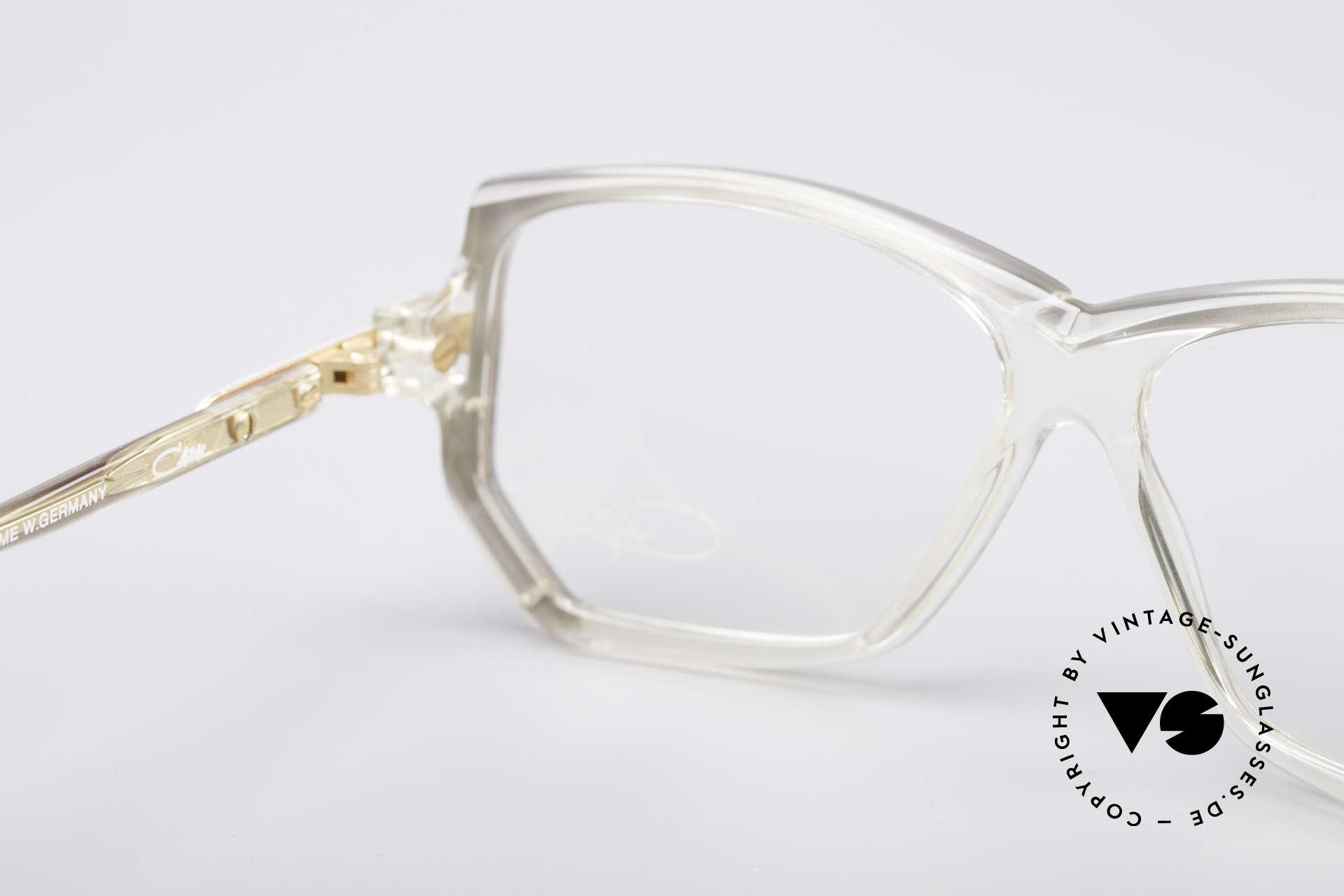 Cazal 197 80er Vintage Designerbrille, die Demogläser können durch optische ersetzt werden, Passend für Damen