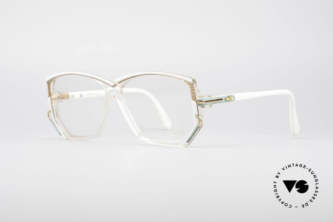 Cazal 197 80er Vintage Designerbrille, unverwechselbares Designerstück in MEDIUM Größe, Passend für Damen