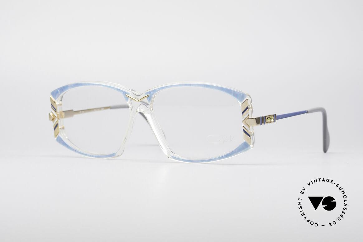 Cazal 194 80er Damen Vintage Brille, zauberhafte Cazal Damen-Brillenfassung von 1988, Passend für Damen