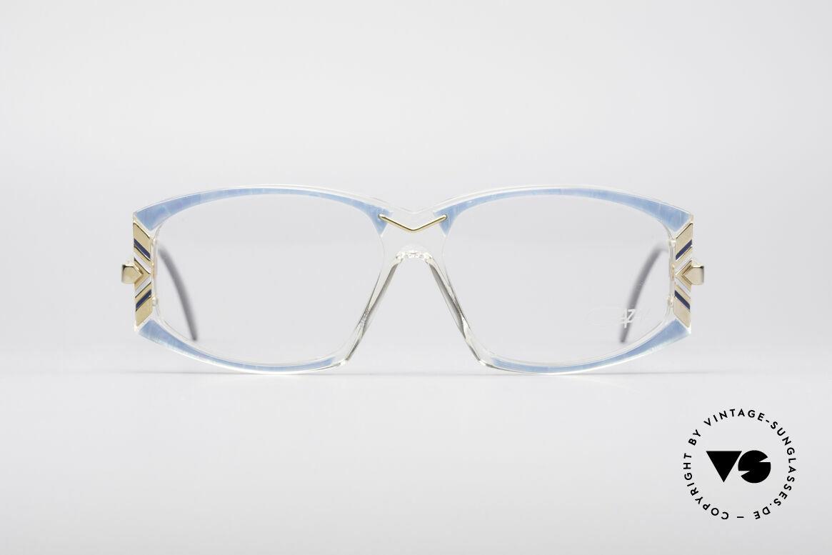 Cazal 194 80er Damen Vintage Brille, ein wahres Designerstück in brillianter Kolorierung, Passend für Damen