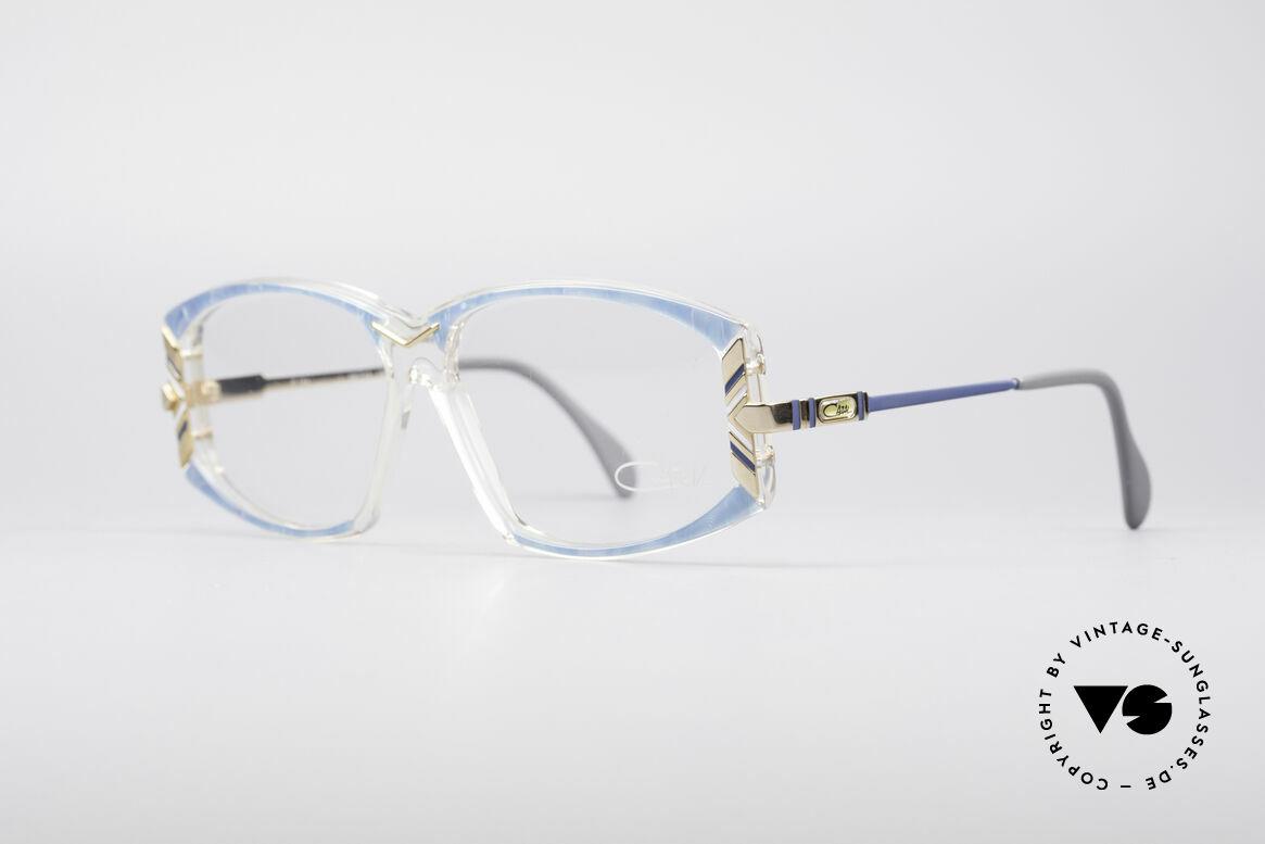 Cazal 194 80er Damen Vintage Brille, entworfen vom großartigen Cari Zalloni (Mr. Cazal), Passend für Damen