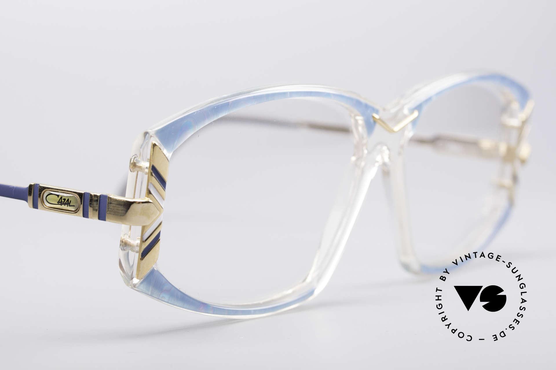 Cazal 194 80er Damen Vintage Brille, KEINE Retrobrille; ein altes Unikat in LARGE Größe, Passend für Damen