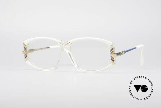 Cazal 194 80er Damen Vintage Brille Details