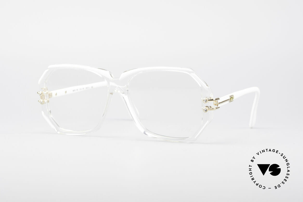 Cazal 169 Kleine Designer Brille, extravagante vintage Designer-Brillenfassung von Cazal, Passend für Damen