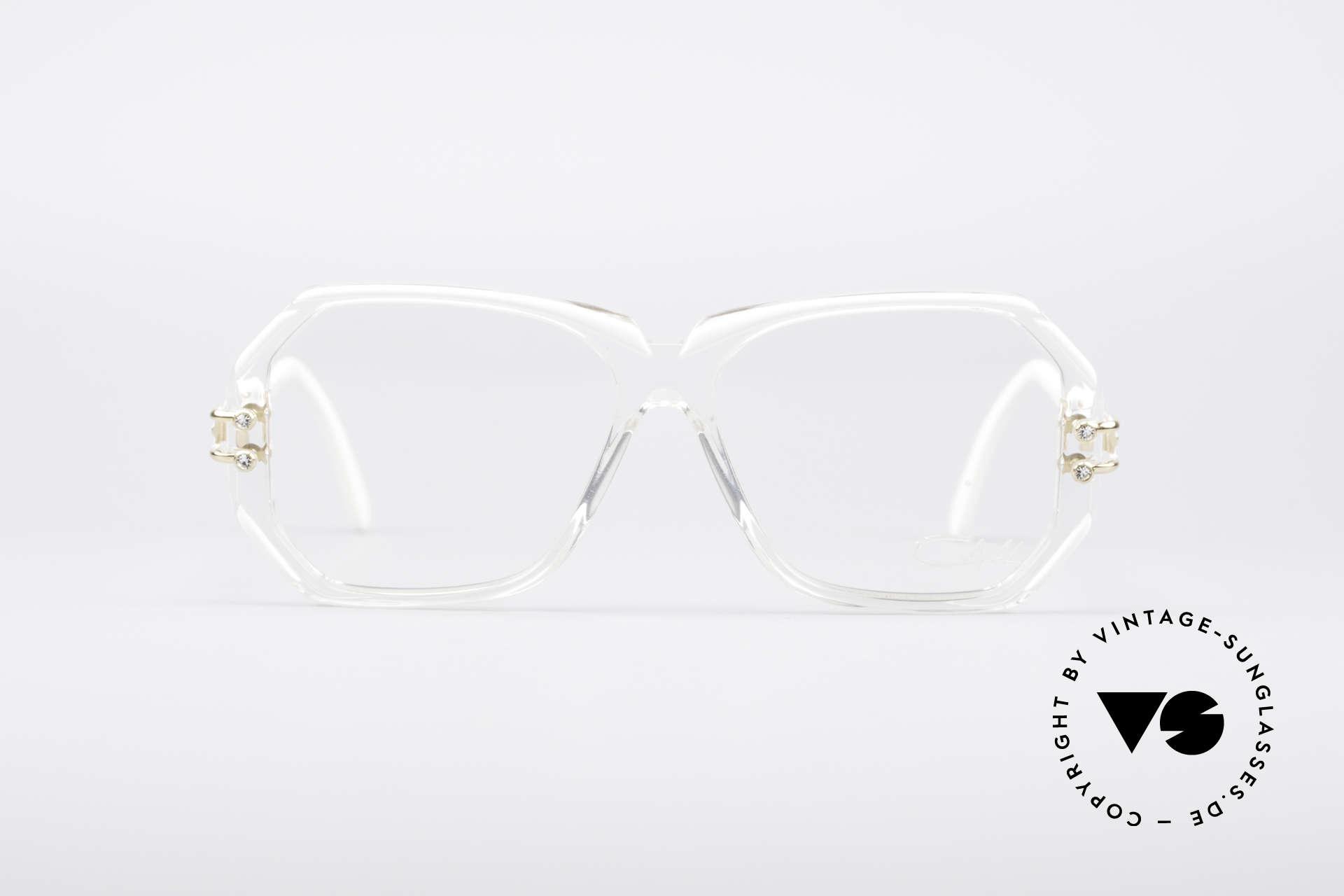 Cazal 169 Kleine Designer Brille, 1989/90 (Frame Germany) gefertigt, KLEINE Gr. 54-13, Passend für Damen