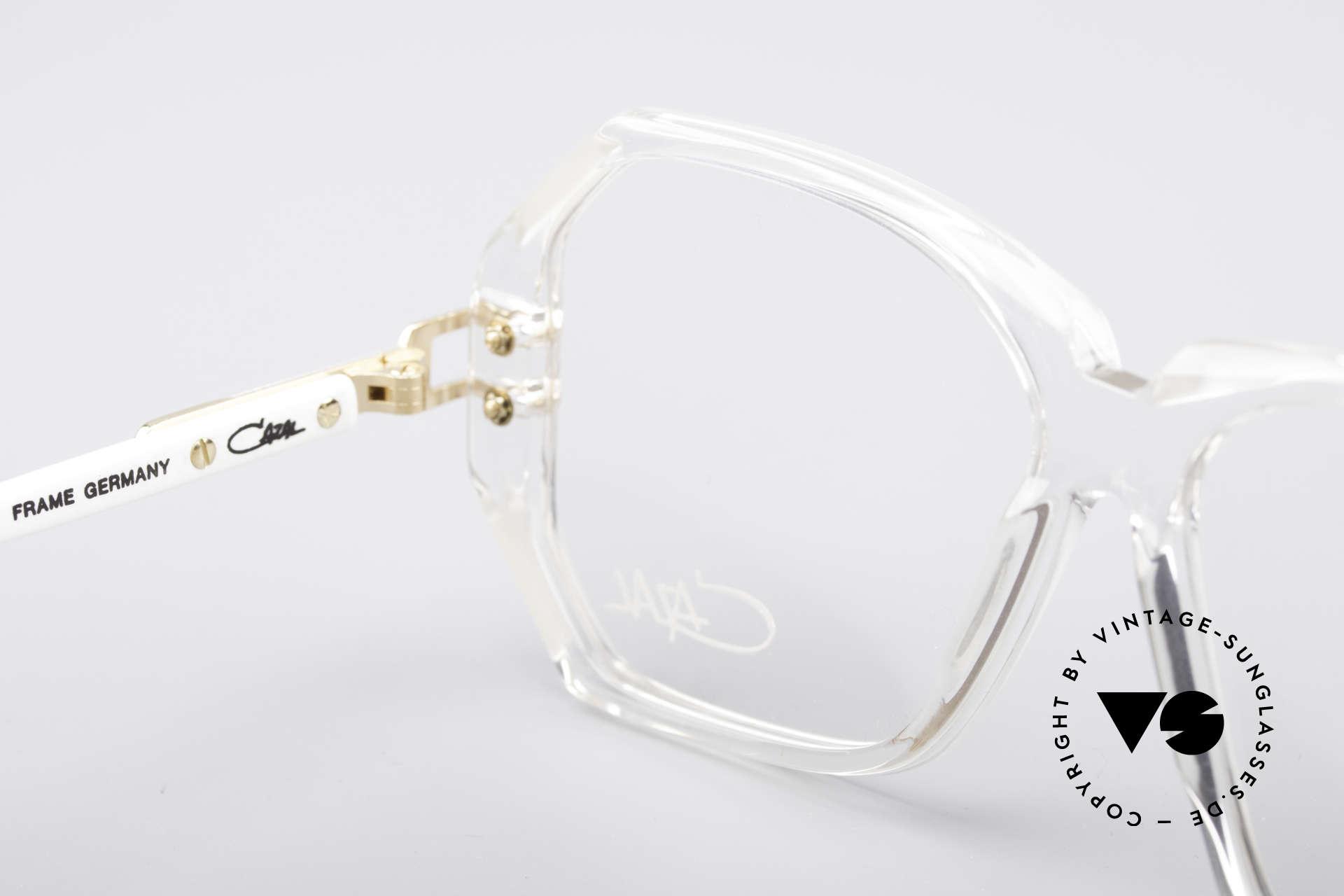 Cazal 169 Kleine Designer Brille, KEINE Retrobrille; sondern ein ca. 28 Jahre altes Unikat, Passend für Damen