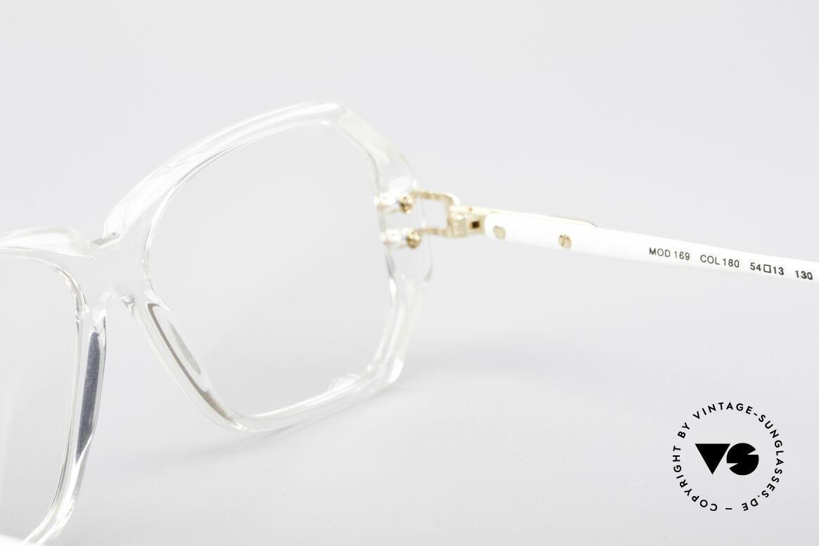 Cazal 169 Kleine Designer Brille, die Demogläser sollten durch optische getauscht werden, Passend für Damen