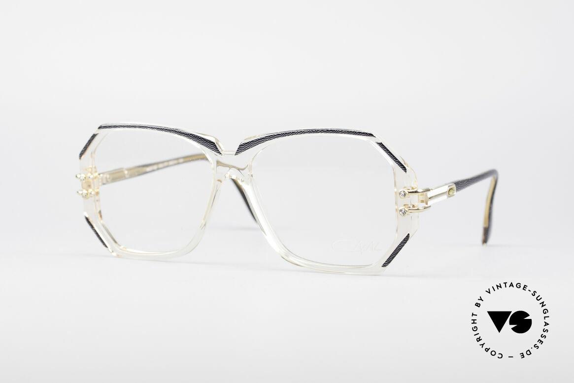 Cazal 169 Vintage Designer Brille, extravagante vintage Designer-Brillenfassung von Cazal, Passend für Damen