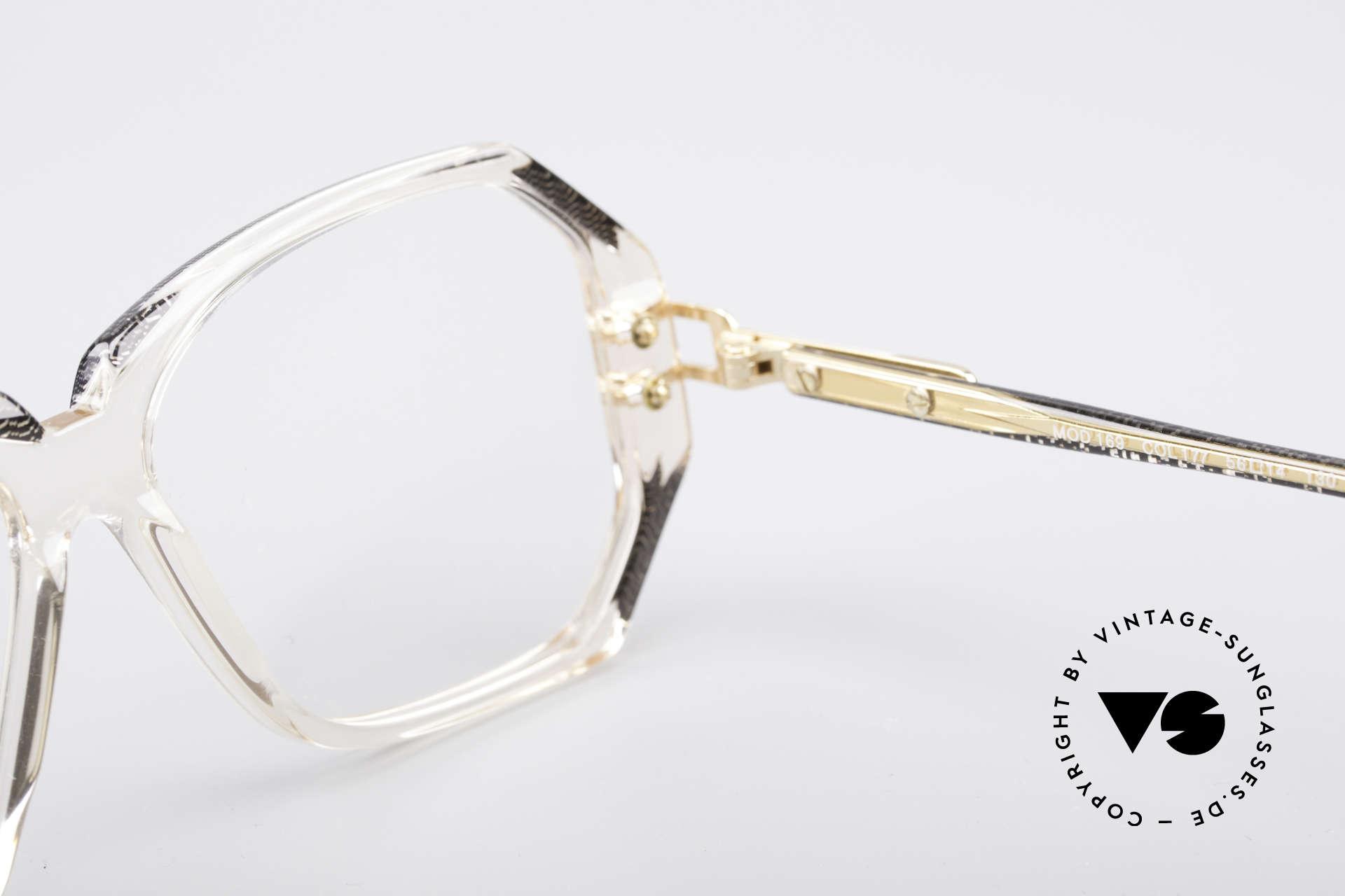 Cazal 169 Vintage Designer Brille, Größe: medium, Passend für Damen