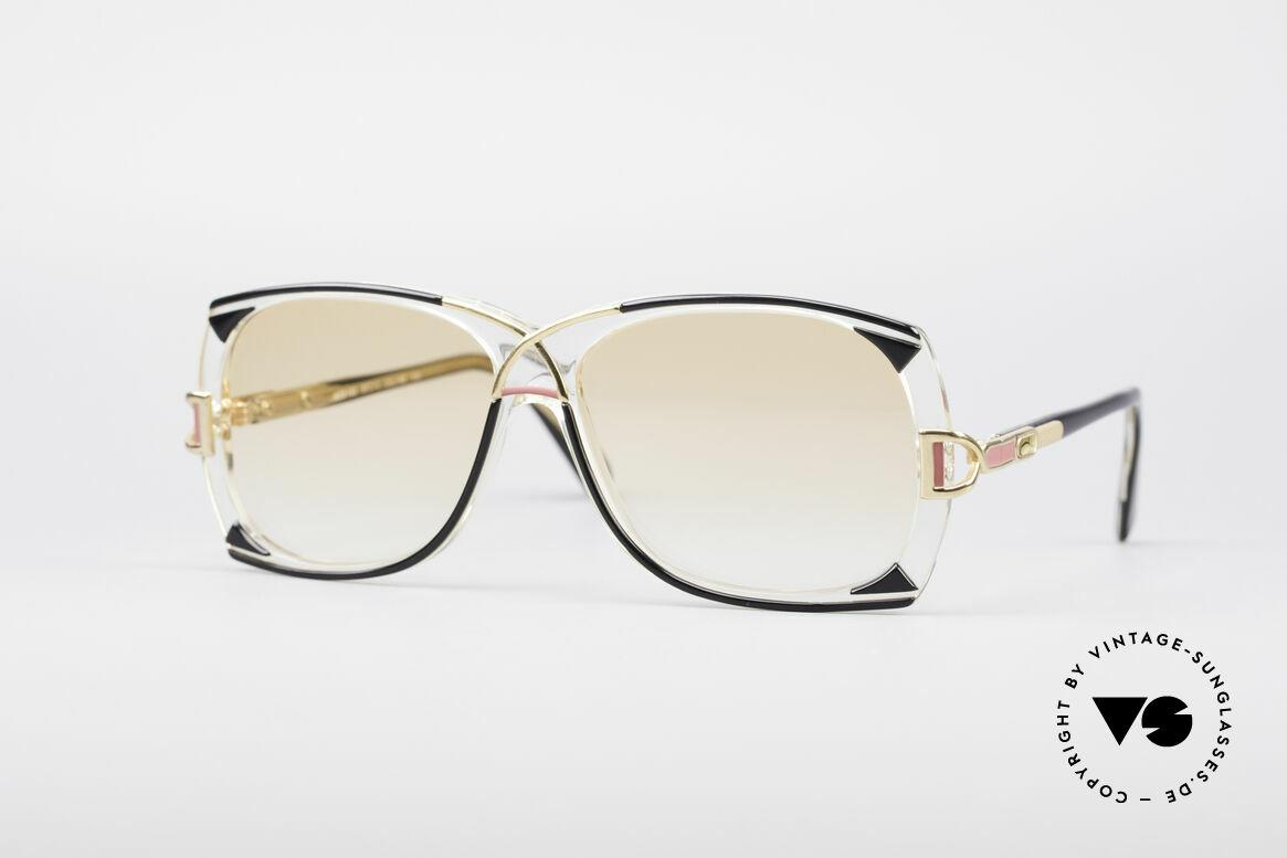 Cazal 193 Original 80er Sonnenbrille, großartige 80er Jahre Cazal Designer-Sonnenbrille, Passend für Damen