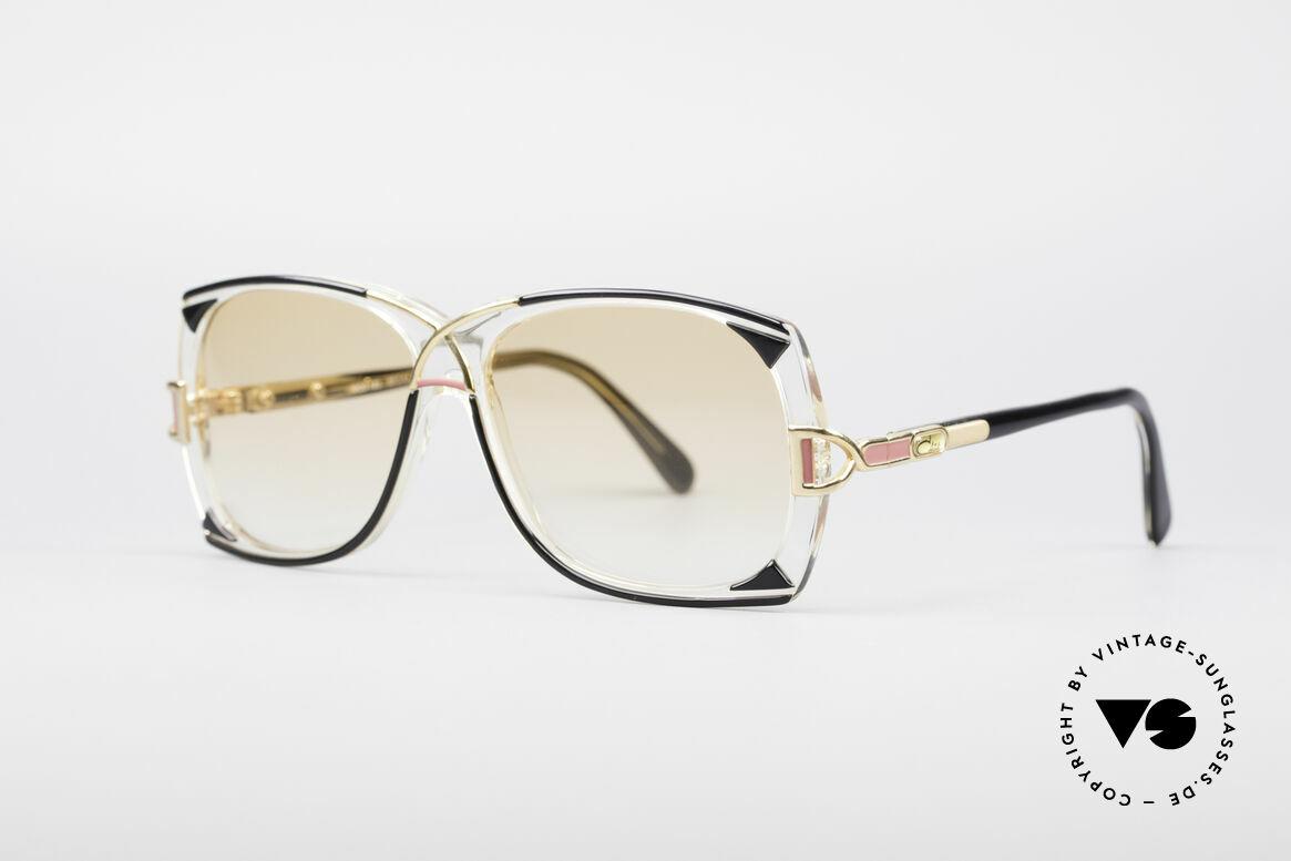 Cazal 193 Original 80er Sonnenbrille, Top-Verarbeitung und schöne Farbkombinationen, Passend für Damen