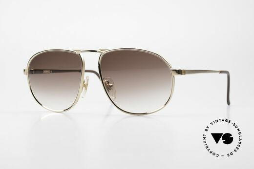 Dunhill 6051 80er Titanium Luxus Brille Details
