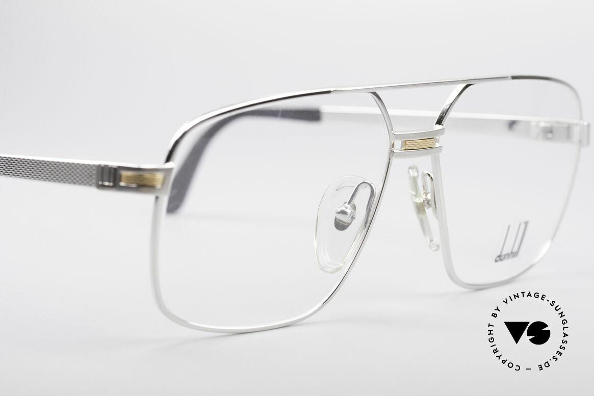 Dunhill 6134 Platinierte Luxus Brille, ungetragen (wie alle unsere Dunhill LuxusBrillen), Passend für Herren