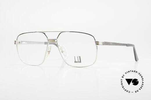 Dunhill 6134 Platinierte Luxus Brille 90er Details