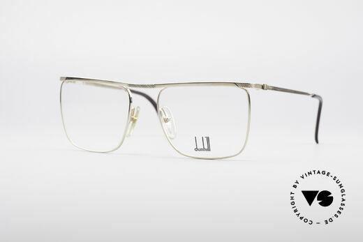 Dunhill 6056 Vergoldete 80er Brille Details