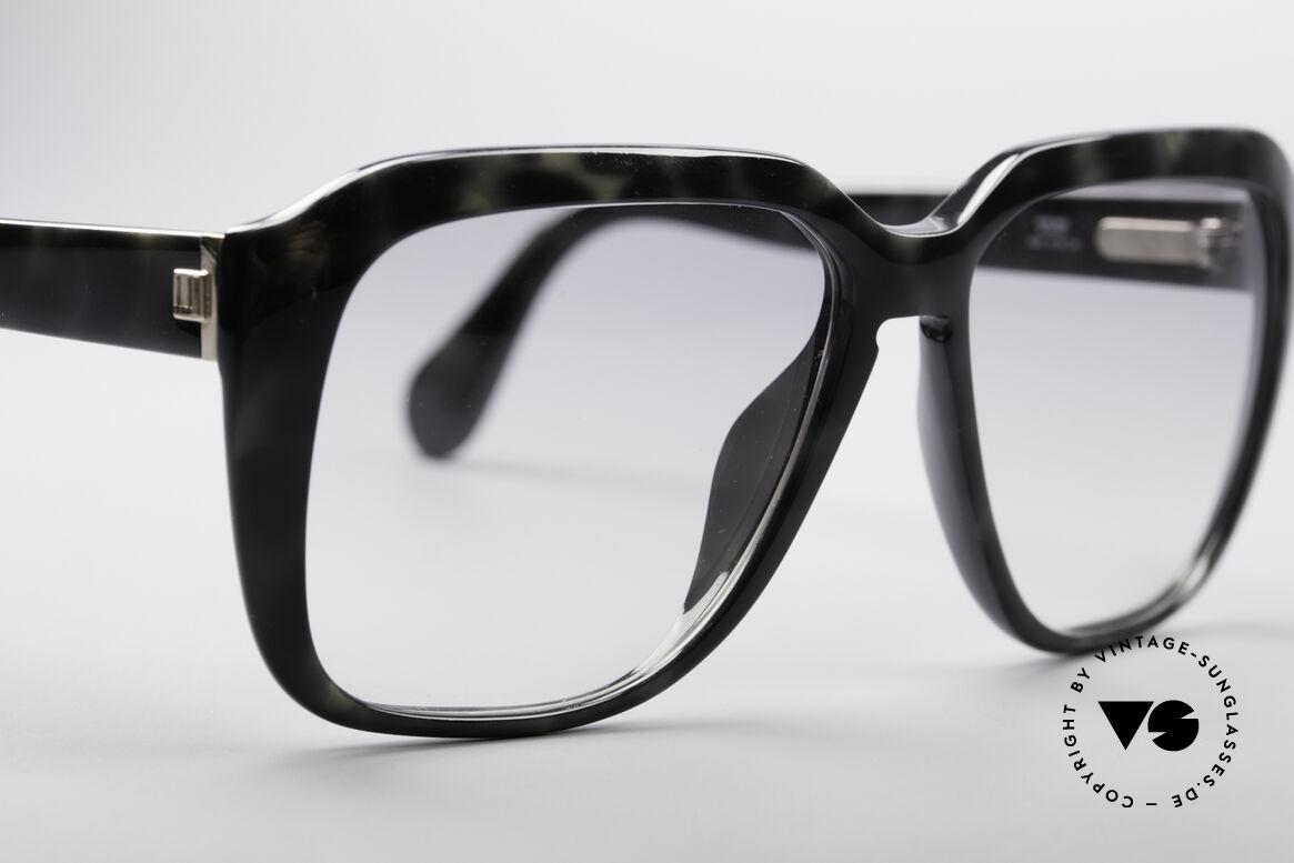 Dunhill 6045 80er Optyl Sonnenbrille, granit Kolorierung mit leicht grau-getönten Gläsern, Passend für Herren