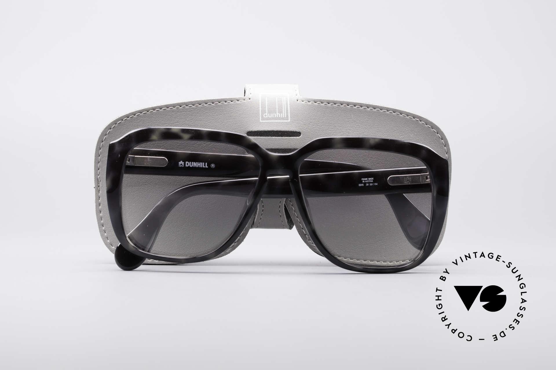 Dunhill 6045 80er Optyl Sonnenbrille, ungetragen (wie alle unsere vintage Sonnenbrillen), Passend für Herren