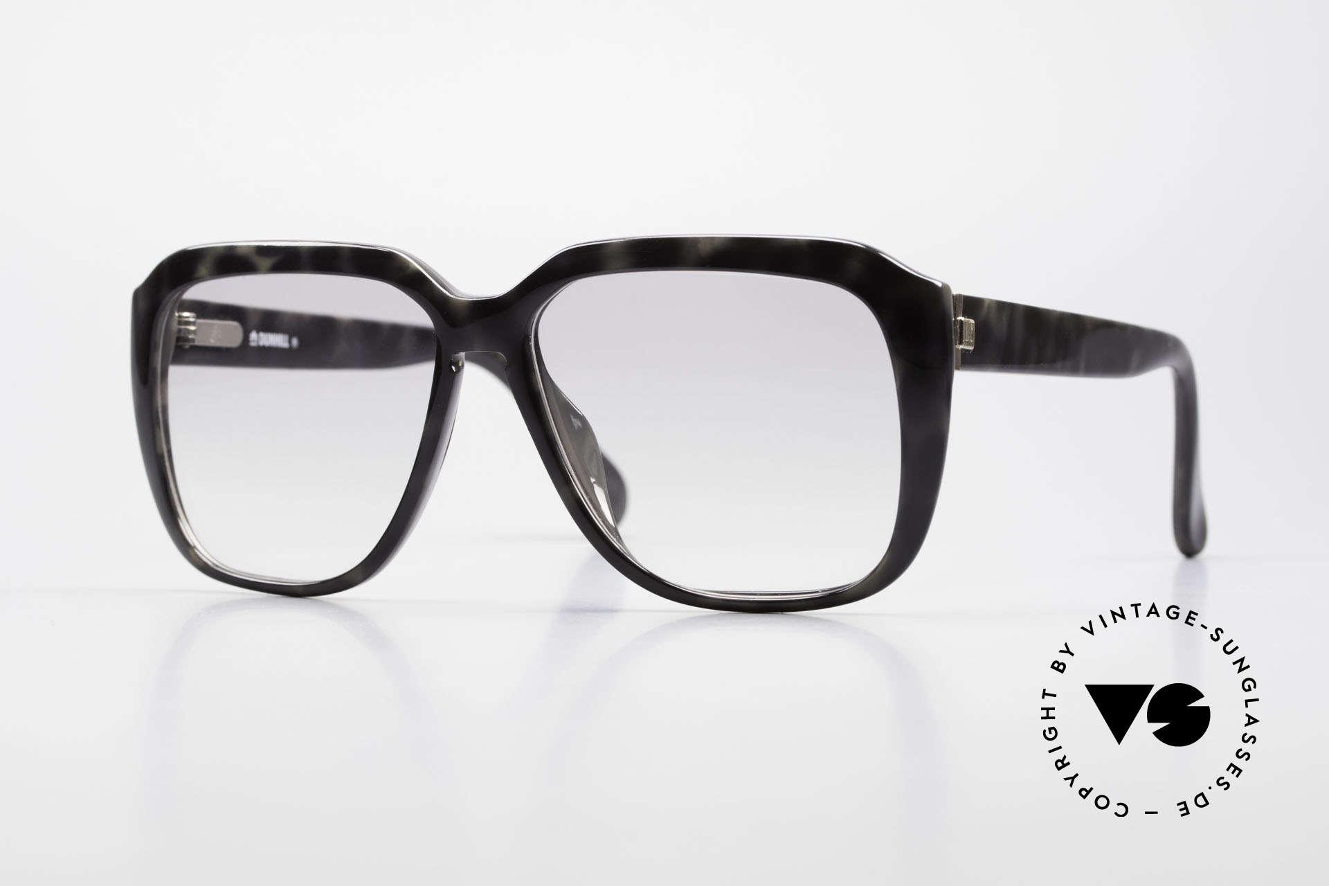 Dunhill 6045 80er Optyl Sonnenbrille Herren, enorm robuster Rahmen mit flexiblen Scharnieren, Passend für Herren