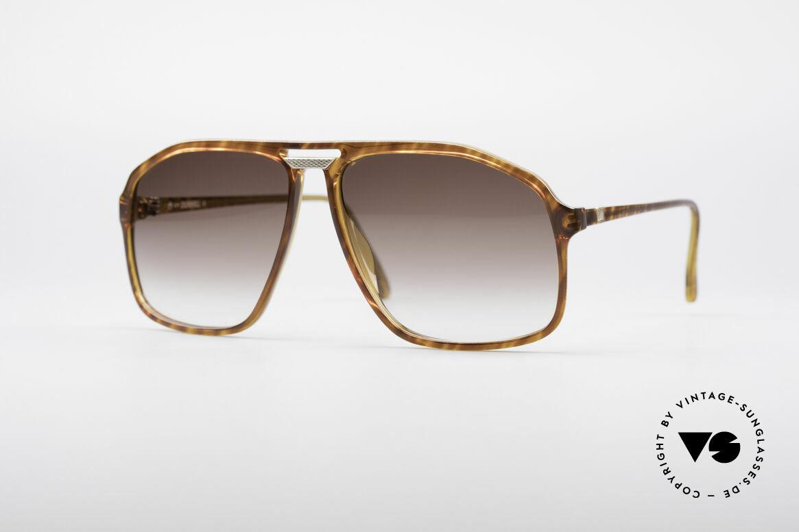 Dunhill 6097 Luxus Herren Sonnenbrille M, vintage Dunhill Sonnenbrille in markanter Pilotenform, Passend für Herren