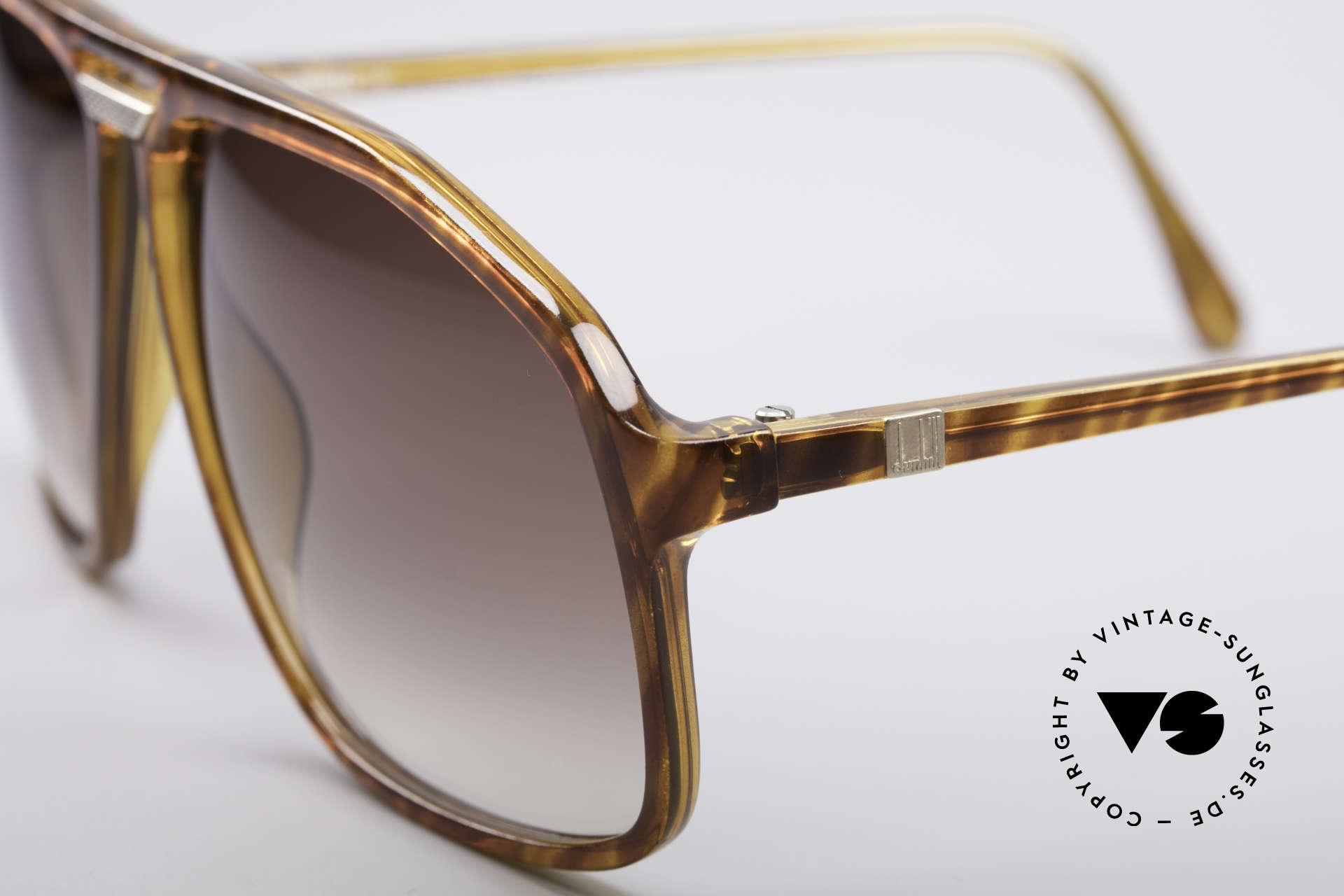 Dunhill 6097 Luxus Herren Sonnenbrille M, edler Farbton & Gläser in einem dunkelbraunen Verlauf, Passend für Herren