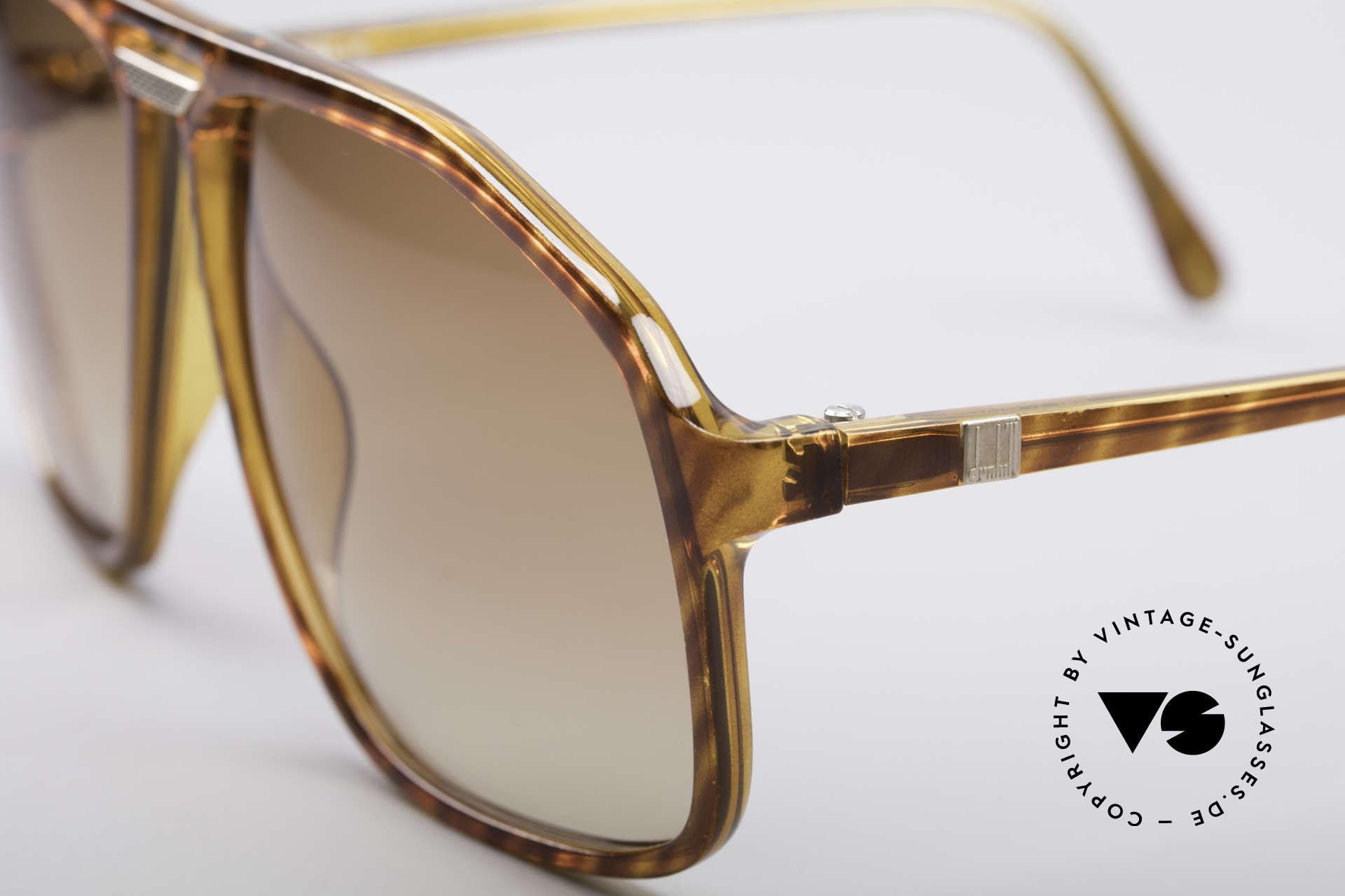Dunhill 6097 Luxus Herren Sonnenbrille M, edler Farbton und Gläser in einem hellbraunen Verlauf, Passend für Herren
