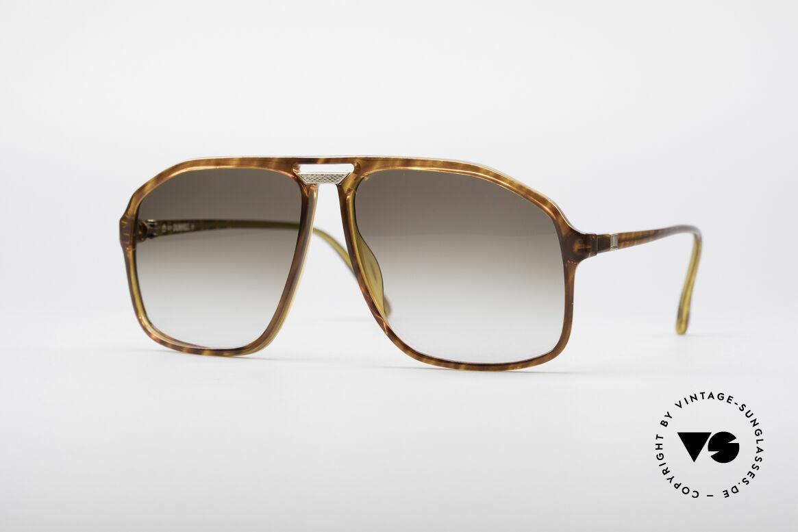 Dunhill 6097 90er Herren Sonnenbrille M, vintage Dunhill Sonnenbrille in markanter Pilotenform, Passend für Herren