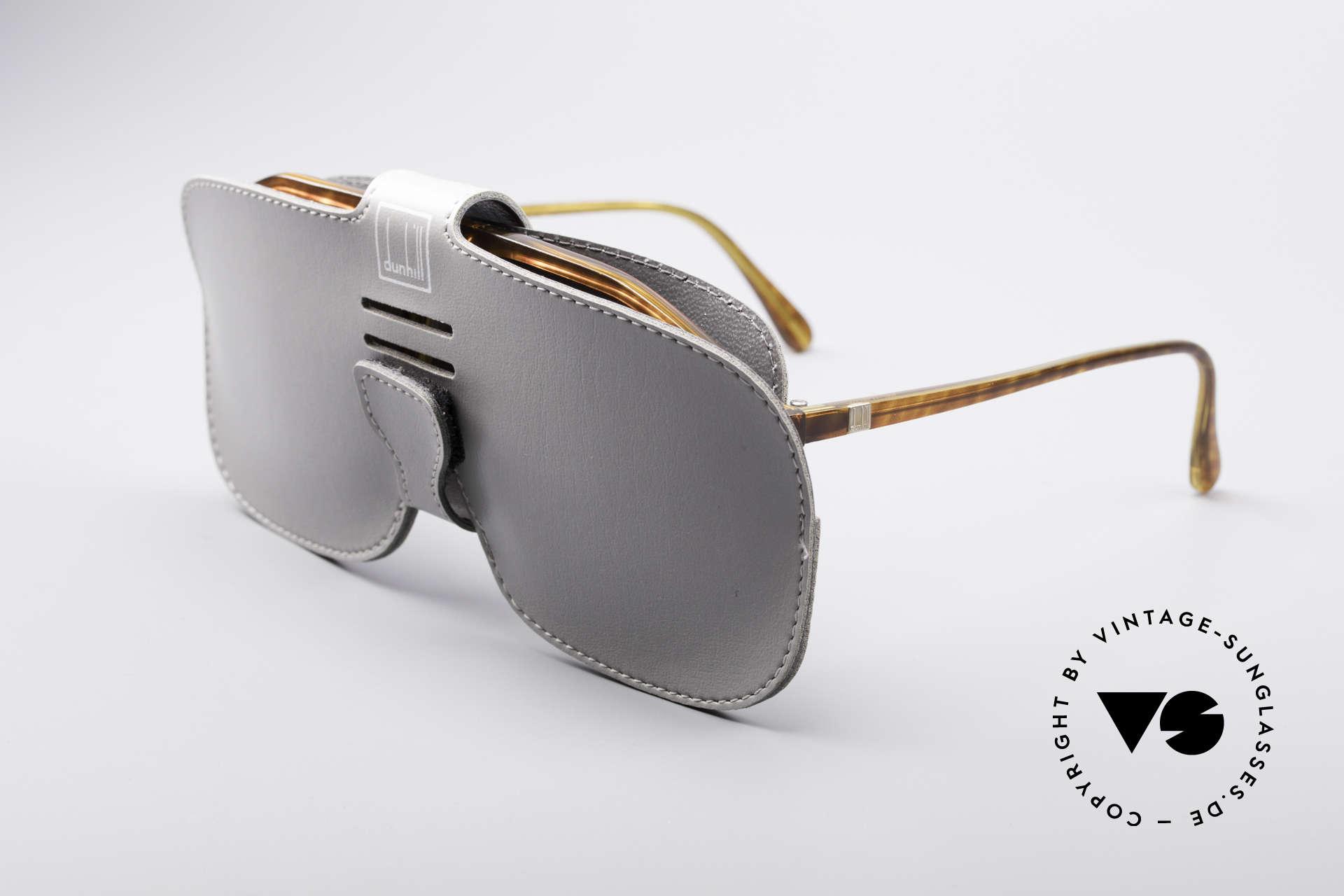 Dunhill 6097 90er Herren Sonnenbrille M, Sonnengläser können bedarfsweise getauscht werden, Passend für Herren